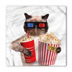 Sinemadaki Kedi Bandana Fular