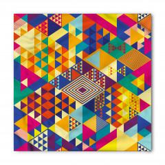 Geometrik Rengarenk Bandana Fular