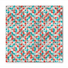 Karışık Geometrik Desen Bandana Fular