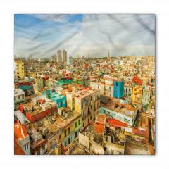 Şehrin Tepeden Görünümü Bandana Fular