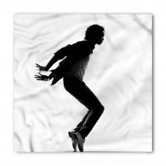 Beyaz Ayakkabılı Dansçı Bandana Fular