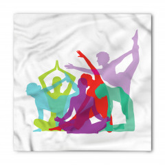 Rengarenk Yogacılar Bandana Fular
