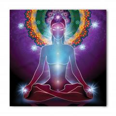 Mor Mandala ve Yoga Bandana Fular