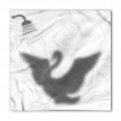 Duş Alan Kuş Desenli Bandana Fular