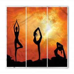 Gün Doğumu Yogası Bandana Fular