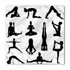 Yoga Pozisyonları Bandana Fular