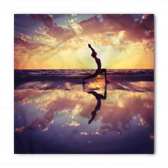 Bulutlar Altında Yoga Bandana Fular