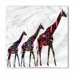 Rengarenk Zürafa Bandana Fular