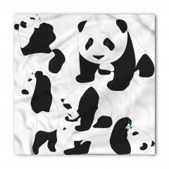 Sevimli Pandalar Bandana Fular