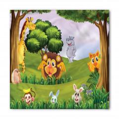 Orman Hayvanları Bandana Fular