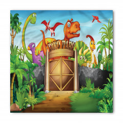 Dinozor Parkı Bandana Fular