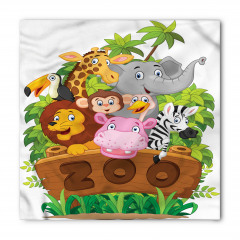 Hayvanat Bahçesi Bandana Fular