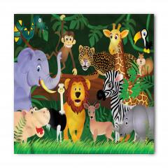 Ormandaki Hayvanlar Bandana Fular