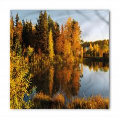 Göl Kenarı Ağaçları Bandana Fular