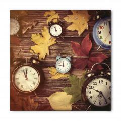 Saatler ve Yapraklar Bandana Fular