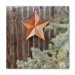 Kahverengi Yıldız Bandana Fular
