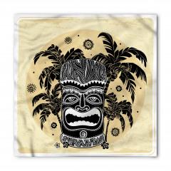 Tiki ve Palmiyeler Bandana Fular