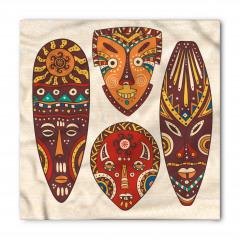 Afrika Maskeleri Bandana Fular