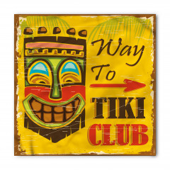 Tiki Kulübü Desenli Bandana Fular