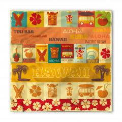 Çiçekler ve Hawaii Bandana Fular