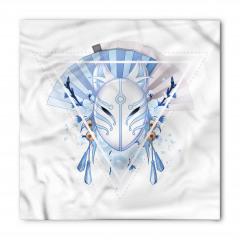Japon Tilki Maskesi Bandana Fular