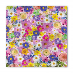 Bahar Çiçekleri Coşkusu Bandana Fular