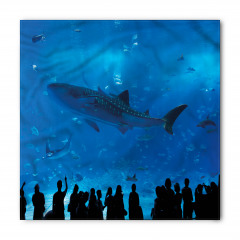 Köpek Balığı Akvaryumu Bandana Fular