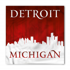 Detroit Michigan Bandana Fular