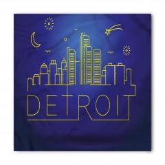 Detroit Geceleri Bandana Fular