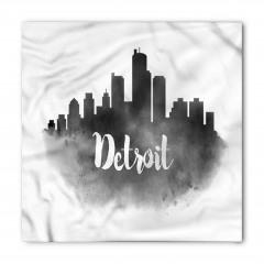 Siyah Beyaz Detroit Bandana Fular