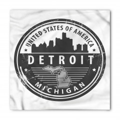 Michigan Damgası Bandana Fular