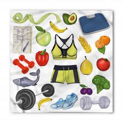 Sağlıklı Beslen Bandana Fular