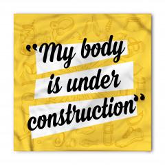 Vücudum Yapım Sürecinde Bandana Fular
