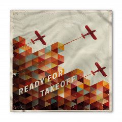 Kalkışa Hazır Uçak Bandana Fular