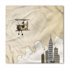 Pilot ve Uçak Bandana Fular