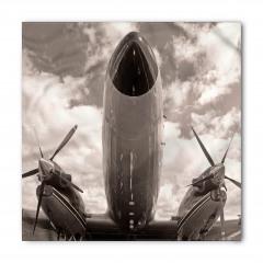 İki Pervaneli Uçak Bandana Fular