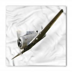 Uçak Kanadı Desenli Bandana Fular