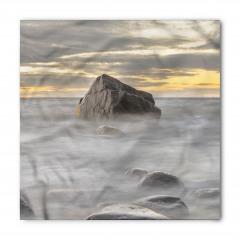 Gri Denizdeki Kayalar Bandana Fular