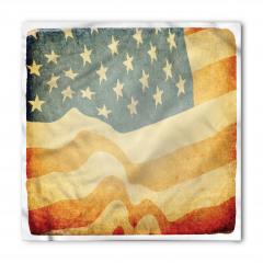 Antik ABD Bayrağı Bandana Fular