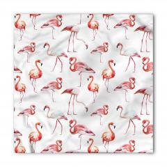 Flamingo Desenli Bandana Fular