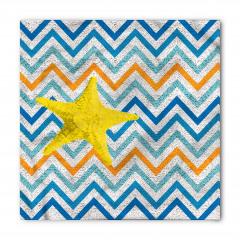 Denizyıldızı Desenli Bandana Fular
