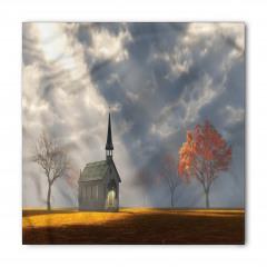 Kilise ve Gökyüzü Bandana Fular