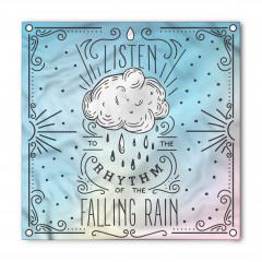 Yağmurun Sesini Dinle Bandana Fular