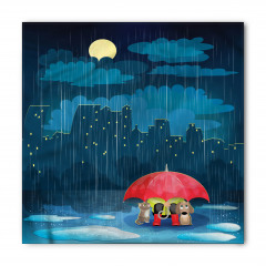 Yağmur Kedi ve Köpek Bandana Fular