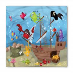 Korsan Gemisi ve Balık Bandana Fular