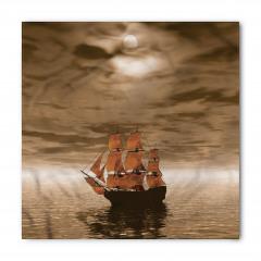 Denizdeki Yelkenli Bandana Fular