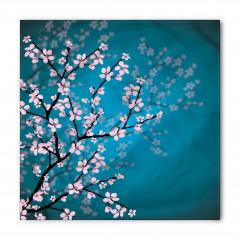 Pembe Çiçekli Ağaç Bandana Fular