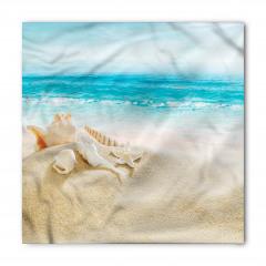 Deniz Kabuklu Desen Bandana Fular