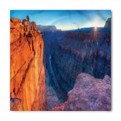 Büyük Kanyon'da Gün Doğumu Manzaralı Bandana Fular
