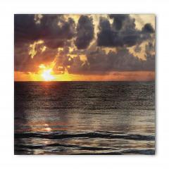 Adada Gün Doğumu Manzaralı Bandana Fular